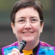 Image of Rev Marian speaking
