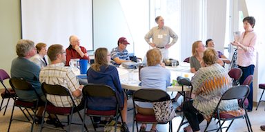 Image of Northlake members discussion group