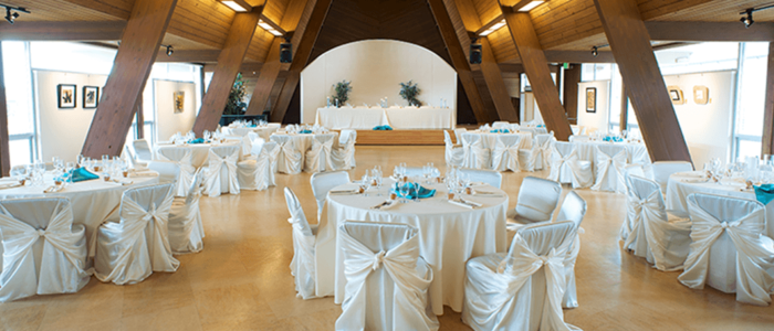 Wedding Reception in Sanctuary