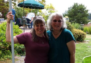 Beth K. and Robin B. at Summerfest 2015