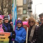photo of Northlakers at women's march