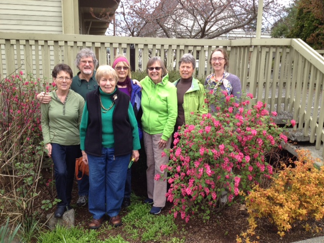 Image of Northlake's Green Sanctuary Team outside the Sanctuary