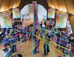 photo of May Pole celebration