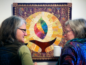 Image of two members of the Seamsters Creative Union