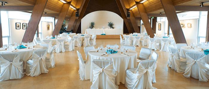 Wedding Reception in Sanctuary