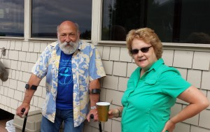 Hal D. and Janet K. at Summerfest 2015