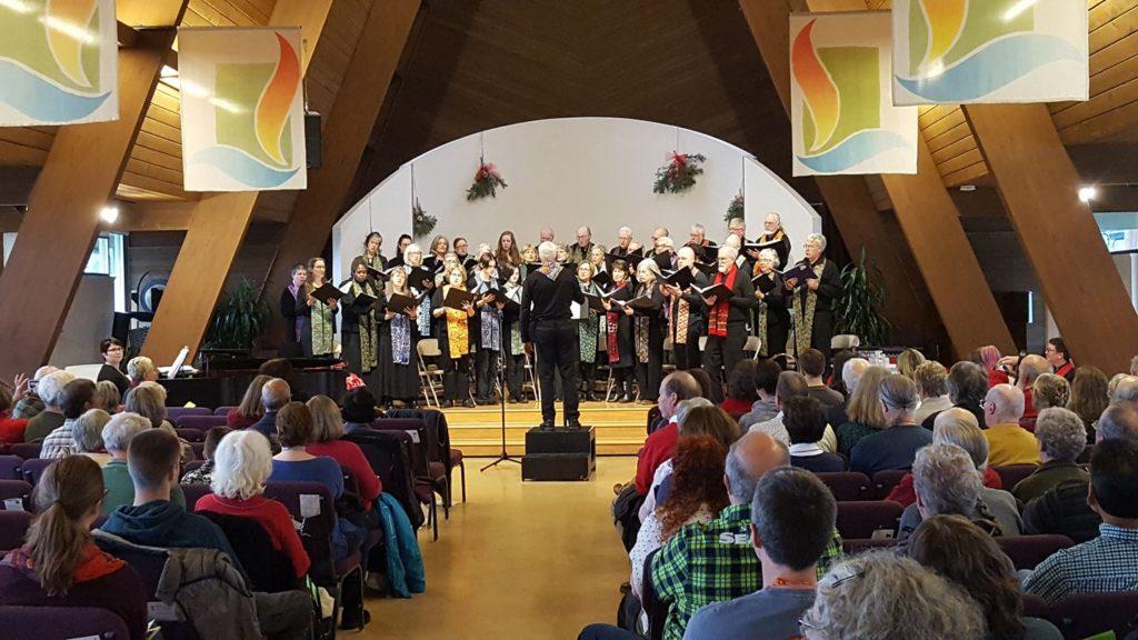 photo of Northlake choir