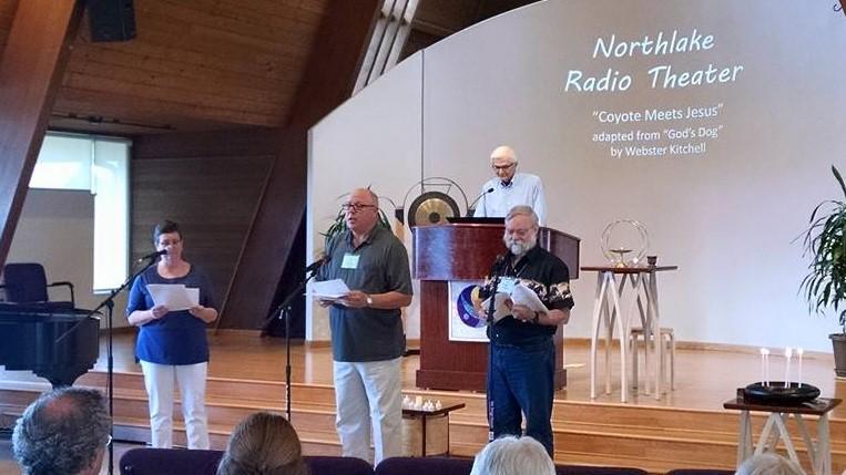 photo of worship at Northlake UU